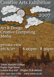private view - college exhbition 26/6/07